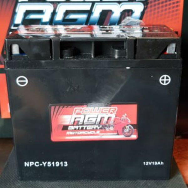 NPC-Y51913 - Motocycle Battery - Power AGM