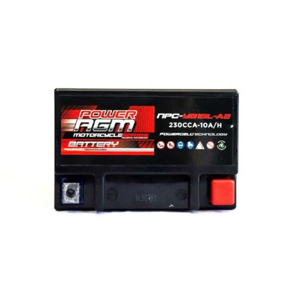NPC-YB10L-A2 | AGM Motorcycle Battery