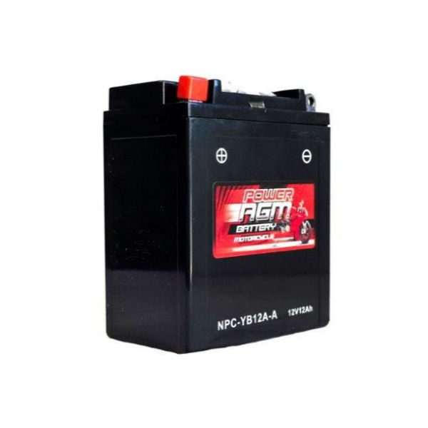 NPC-YB12A-A | AGM Motorcycle Battery