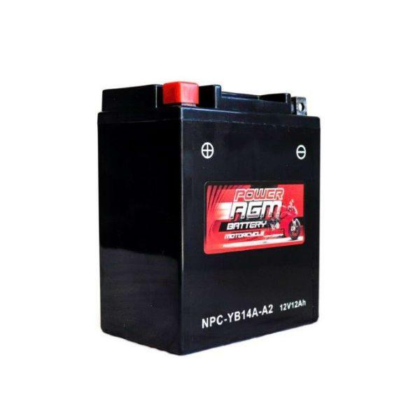 NPC-YB14A-A2 | AGM Motorcycle Battery