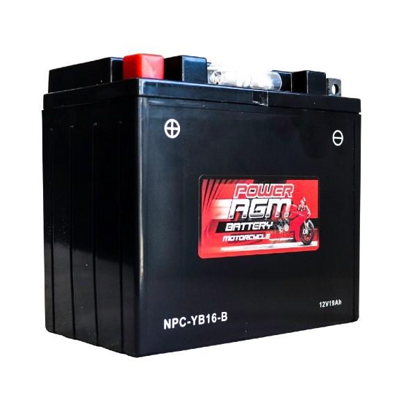 Motorcycle Battery   NPC-YB16-B   Power AGM