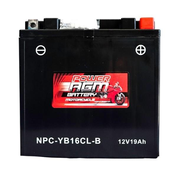 Motorcycle Battery | NPC-YB16CL-B | Power AGM