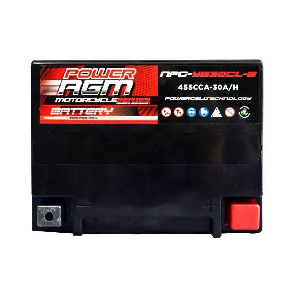 Motorcycle Battery | NPC-YB30CL-B | Power AGM