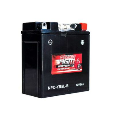 NPC-YB5L-B | AGM Motorcycle Battery