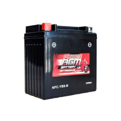 NPC-YB9-B | AGM Motorcycle Battery