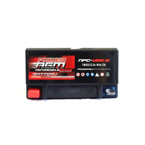 NPC-YB9-B | AGM Motorcycle Battery
