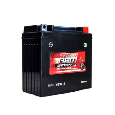 NPC-YB9L-B | AGM Motorcycle Battery