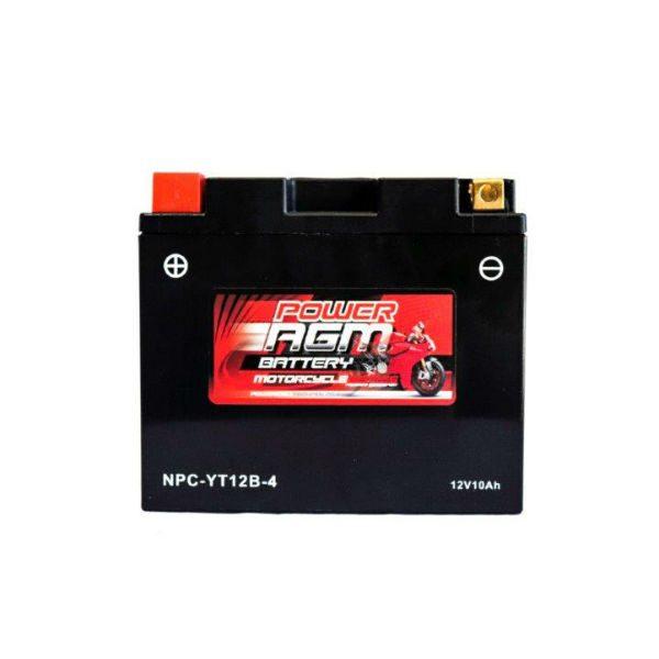 NPC-YT12B-4 | AGM Motorcycle Battery