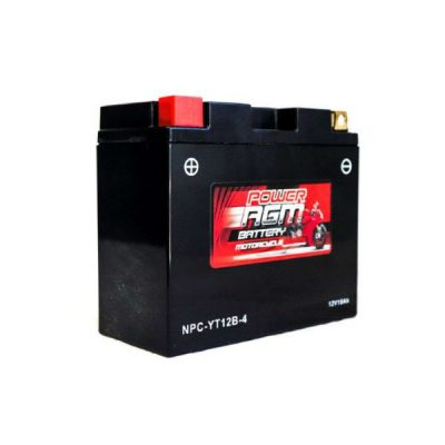 NPC-YT12B-4 | AGM Motorcycle Battery