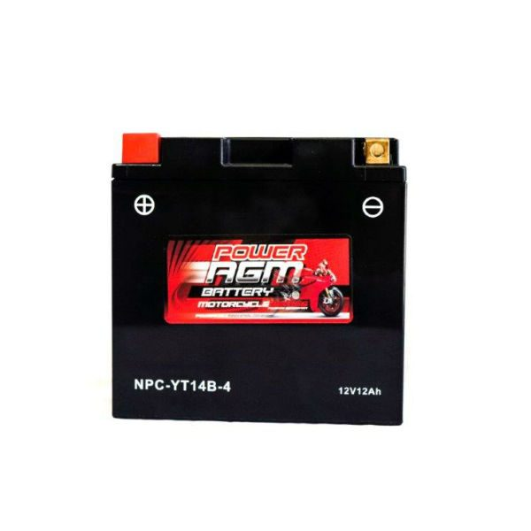NPC-YT14B-4 | AGM Motorcycle Battery