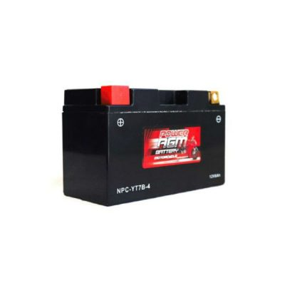 NPC-YT7B-4 | AGM Motorcycle Battery