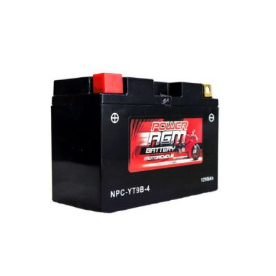 NPC-YT9B-4 | AGM Motorcycle Battery