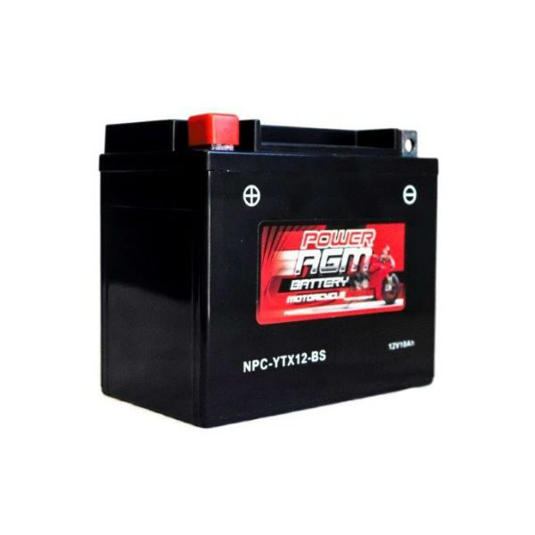 NPC-YTX12-BS | AGM Motorcycle Battery