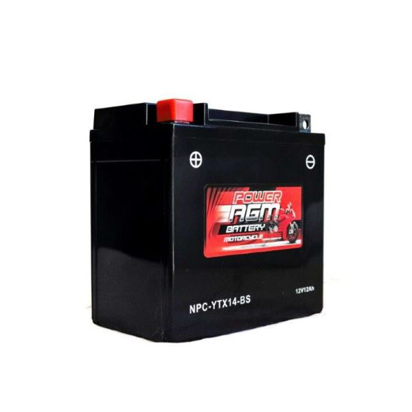 NPC-YTX14-BS | AGM Motorcycle Battery