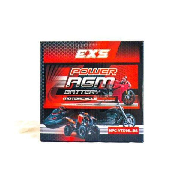 NPC-YTX14L-BS | AGM Motorcycle Battery