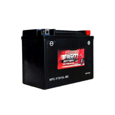 NPC-YTX15L-BS | AGM Motorcycle Battery