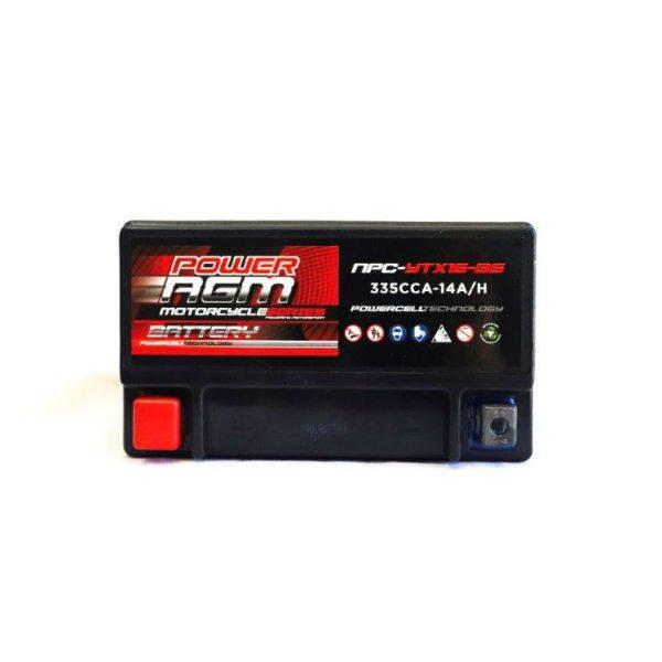 NPC-YTX16-BS } AGM Motorcycle Battery