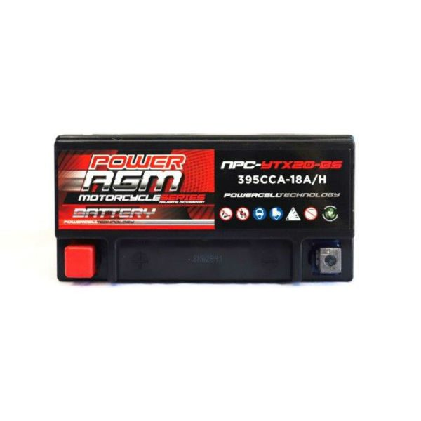 NPC-YTX20-BS | AGM Motorcycle Battery