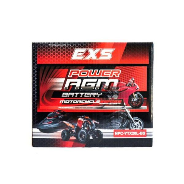 NPC-YTX20L-BS | AGM Motorcycle Battery