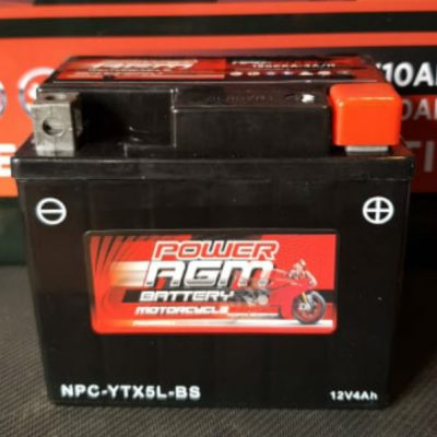 NPC-YTX5L-BS - Motocycle Battery - Power AGM