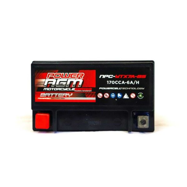 NPC-YTX7A-BS | AGM Motorcycle Battery
