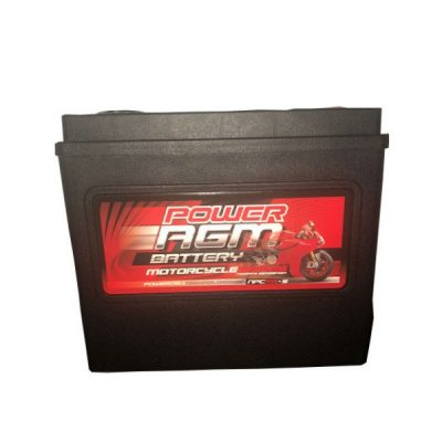 NPC-MX-5 - 19AH 425CCAs AGM Motorcycle Battery | Power AGM