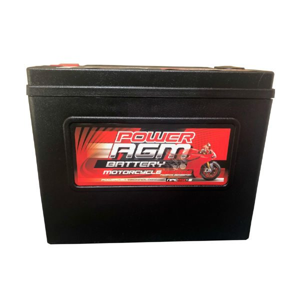 NPC-MX-6 - 20AH 490CCAs AGM Motorcycle Battery | Power AGM