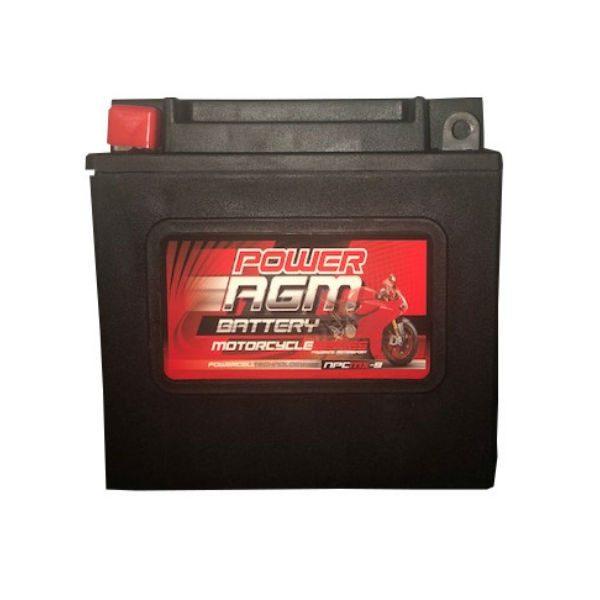 NPC-MX-9 - 7AH 175CCAs AGM Motorcycle Battery | Power AGM