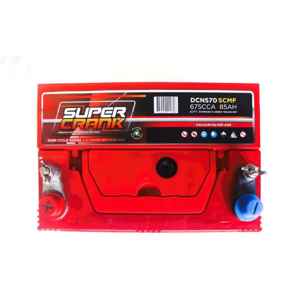 DCNS70-SCMF | Super Crank Deep Cycle Battery