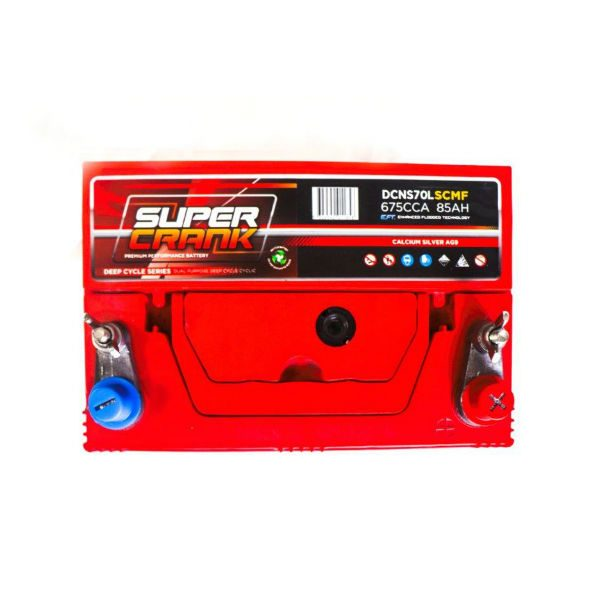 DCNS70L-SCMF | Super Crank Deep Cycle Battery
