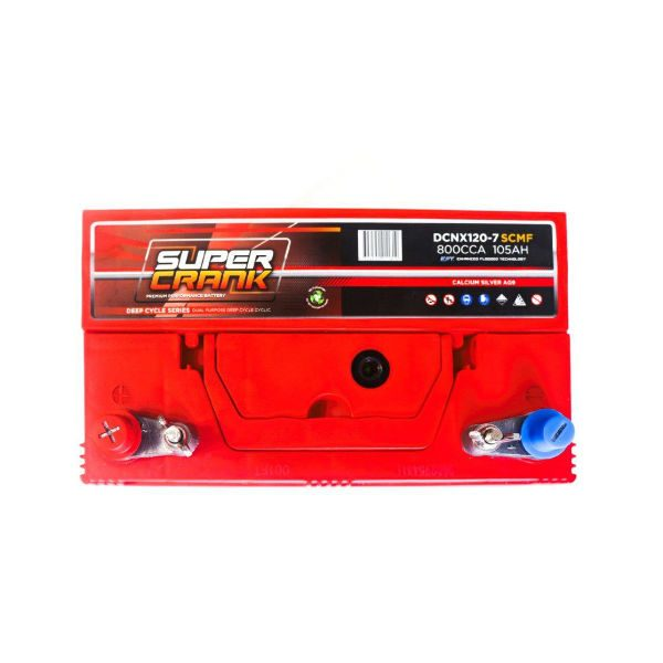 DCNX120-7SCMF | Super Crank Deep Cycle Battery