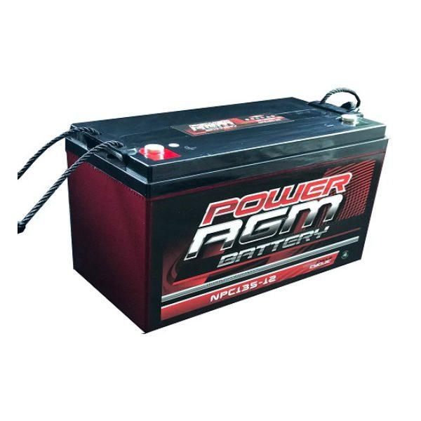 NPC135-12 | Power AGM Deep Cycle Battery