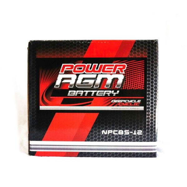NPC85-12 | Power AGM Deep Cycle Battery