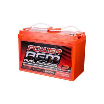 AGM Dual Purpose Battery | NPCDP12V-135AH | Power AGM