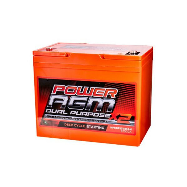 AGM Dual Purpose Battery | NPCDP12V-85AH | Power AGM