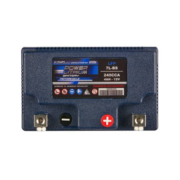 Lithium Motorcycle Battery   LFP7L-BS   Power Lithium